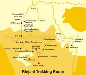 rinjani-trekking-route